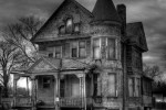 Ilustrasi rumah berhantu (Ciricara.com)