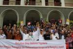 FOTO KPK VS POLRI : Akademisi dan Mahasiswa DIY Dukung KPK