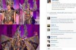 Kostum Elvira di akun Instagram elviraelph