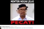 """Meme """"Rakyat Tak Jelas"""" diunggah aktivis sosial, Fadjroel Rachman (twitter/@fadjroel)"""