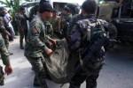Militer Filipina gotong mayat Zulkifli bin Hir (Istimewa)