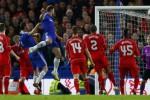 Momen Branislav Ivanovic mencetak gol di semi final Capital One Cup 2014 (Reuters.com)