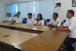 KUNJUNGAN MEDIA : Kunjungi Solopos, Manajemen Dafam Kayon Resort Kenalkan Jemparingan