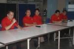 Panitia imlek memberikan keterangan kepada media dalam sesi jumpa pers peringatan Imlek 2015 di Gedung Himpunan FuQing, Kelurahan Sudiroprajan, Jebres, Sabtu (31/1/2015). (M Ismail/JIBI/Solopos)