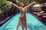 Paris Hillton menikmati liburan di Bali (Instagram)