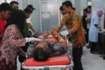 Korban kecelakaan kerja saat mendapatkan pertolongan pertama di RSUD Banyudono, Boyolali, jawa Tengah, Selasa (7/1/2015). (Hijriyah Al Wakhidah/JIBI/Solopos)