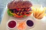 Sandwich steak ala RAY (JIBI/Harian Jogja/dok.PR RAY)