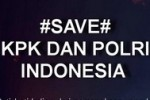 Tanda pagar #SAVEPOLRIKPK (Twitter.com)