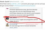 Tweet klarifikasi Aliando Syarief (Twitter.com)
