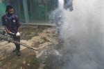 Upaya pencegahan demam berdarah dengan fogging (JIBI/Solopos/Antara/Dedhez Anggara)
