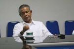 Ketua PSSi Djohar Arifin menyatakan akan berpikir positif atas keberadaan Tim Sembilan yang dibentuk Kemenpora. JIBI/Solopos/dok
