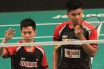 Tim putra Djarum Kudus lolos ke babak semifinal Superliga Badminton 2015 (Badminton.org)