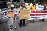 Foto demo anti-korupsi (JIBI/Harian Jogja/Gigih M. Hanafi)