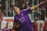 Gelandang Fiorentina Mario Gomez menjadi bintang saat mengalahkan Atalanta. ist/today.it