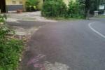 Titik tengah ruas JJLS di Desa Girisekar, Kecamatan Panggang. (JIBI/Harian Jogja/Kusnul Isti Qomah)