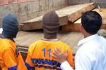 KAYU ILEGAL : Polres Madiun Tangkap Pengangkut Kayu Diduga Ilegal