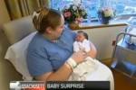 Katie Kropas mengetahui dirinya hamil satu jam sebelum melahirkan (Dailymail)