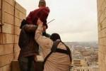 Foto eksekusi yang diambil SANA dari situs afiliasi ISIS (SANA)