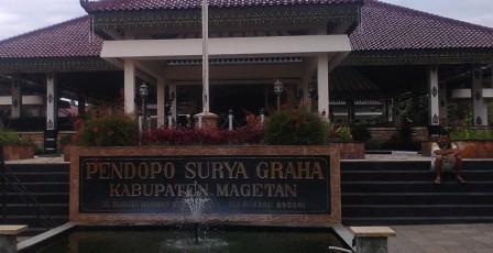 Pendapa Pemkab Kabupaten Magetan, Jawa Timur. (JIBI/Solopos/Aries Susanto)
