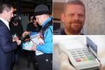 Pengemis kartu kredit di Inggris