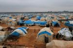 Kondisi Kamp Pengungsian Bab Al-Salam di Azaz, dekat perbatasan Suriah-Turki, Minggu (28/12/2014). (JIBI/Solopos/Reuters)