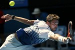 Stanislas Wawrinka Lolos ke babak 8 besar (Reuters/Thomas Peter)