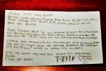 Surat ucapan Ulang Tahun dari El dan Dul untuk Maia