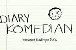 """Diary Komedian Raditya Dika berjudul """"Kalimat Menolak"""" Cowok (Youtube.com)"""