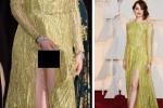 Emma Stone di red carpet Oscar 2015 (mirror.co.uk)