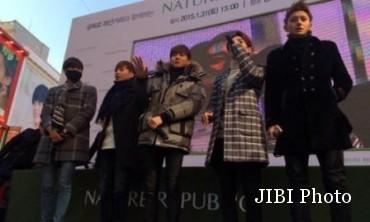 Exo di acara fan sign (Allkpop)