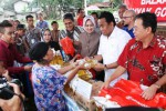 Menteri Perdagangan hadiri bazar murah di Serpong, Sabtu (31/1/2016). (Rahmatullah/JIBI/Bisnis)