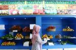Promosi Buah Nusantara Kementerian Pertanian di Jakarta, Jumat (13/2/2015). (Abdullah Azzam/JIBI/Bisnis)