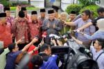Ketua MUI seusai bertemu Presiden Jokowi, Selasa (3/2/2015). (JIBI/Solopos/Antara/Yudhi Mahatma)