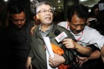 Bareskrim Polri memeriksa mantan ketua MK Akil Mochtar, Rabu (4/2/2015). (JIBI/Solopos/Antara/Wahyu Putro A.)