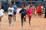 Latihan atlet junior dan atlet muda di Stadion Brawijaya Kediri, Kamis (5/2/2015). (JIBI/Solopos/Antara/Rudi Mulya)
