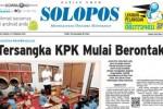Halaman Depan Harian Umum Solopos edisi Jumat, 27 Februari 2015