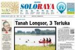 SOLOPOS HARI INI : Soloraya Hari Ini: Tanah Longsor di Karanganyar hingga Goyang Bolo-Bolo Tina Toon