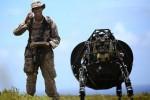 Robot anjing pelacak Google (Dailymail)