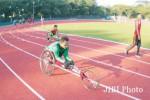 Para atlet paragames sedang berlatih di Stadion Sriwedari beberapa waktu lalu. JIBI/Solopos/dok
