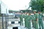 Bupati Magetan (menunjuk) sedang meninjau proyek di Magetan. (JIBI/Solopos/Istimewa)