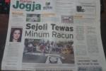 Harian Jogja edisi Senin Wage, 9 Februari 2015 (JIBI/Harian Jogja/dok)