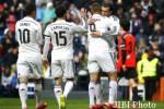 Real Madrid masih kokoh di puncak klasemen sementara Liga Spanyol (JIBI/Reuters/Susana Vera)