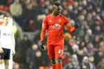 Gaya pemain Liverpool Mario Balotelli seusai menciptakan gol ke gawangTottenham Hotspur di Anfield Stadium Liverpool. JIBI/Reuters/Phil Noble