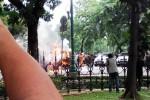 Mobil Meledak dan Terbakar di Dekat Gedung Bareskrim