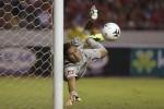 Penjaga gawang Real Madrid asal Kosta Rika, Keylor Navas kemungkinan akan dipasang sebagai starter saat Real madrid melawan Deportivo La Coruna. JIBI/Solopos/Reuters
