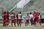 Para pemain persis sedang melakukan latihan di Stadion Manahan. JIBI/Solopos/ilustrasi