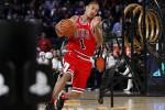 Derrick Rose saat memperkuat Chicago Bulls (Reuters/Jessica Rinaldi)