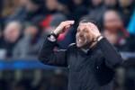 Pelatih Atletico Madrid, Diego Simeone, menyebut Leverkusen menang berkat tampil agresif. Ist/Reuters