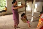 Penimbangan anak (JIBI/Harian Jogja/Kusnul Isti Qomah)