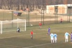 Zarko Udovicic saat gagal eksekusi penalti (Dailymail.co.uk)